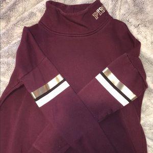 VS Pink Mock neck sweater